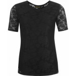 domace tricko golddigga lace t shirt ladies black 150x150 Ariel Black