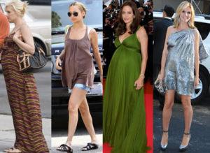 celebrity maternity fashion 300x219 Těhotenská móda   jak být trendy?