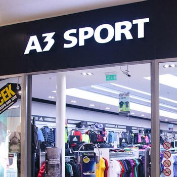 Prodejny oblečení A3 SPORT – MéOblečení.cz 29cd14adaed