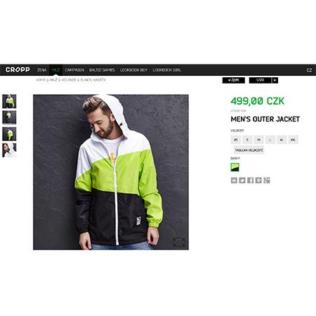 6909defd375 Pánská sportovní bunda Cropp men`s outer jacket – MéOblečení.cz